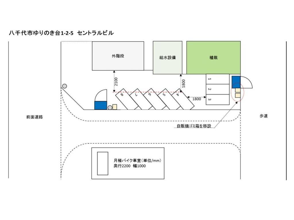 【予約制】トメレタ ゆりのき台1丁目駐車場【バイク専用】 image