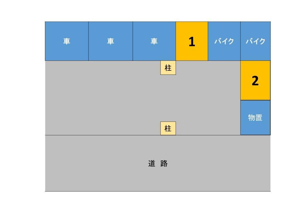 【予約制】トメレタ 代々木1丁目駐車場【バイク専用】: 東京都渋谷区代々木1-4-4 [地図]